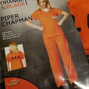 Prison costume orange is the new black